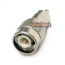 TNC Male Jack to RCA Male Plug Coax Adapter