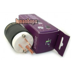 PAILICCS OCC Copper Gold-plated US NEMA Power Plug pp350-M