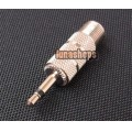 3.5mm Mono Male to F female Adapter Convertor