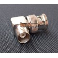 BNC MALE TO FEMALE ANGLE 90 DEGREE COAXIAL ADAPTER