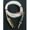 Silver Plated Cable For K271s K141s K171s K240s AKG Headphone Danmark JENSEN
