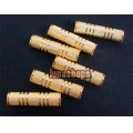 GOLDEN 3.5MM FEMALE TO FEMALE COUPLER EXTENDER ADATPER