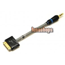 Cardas Earphone Headphne cable 3.5mm male to Iphone Dock