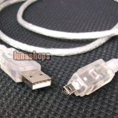 USB to IEEE 1394 4 PIN FIREWIRE TRAVEL CABLE NEW