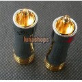 2pcs 8mm Pailiccs lockable Plug Cable Connector RCA male adapter