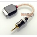 Ipod Ipad Dock to 3.5mm Male line out adapter Cable