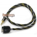 Car LO Audiophile Ipod Dock to 3.5mm Male cable DIY