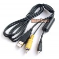 AV + USB Cable For Nikon CoolPix 2100 2200 3100 L5 4600