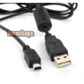 USB Data Cable For Fuji FinePix A205 A205S A210 A310