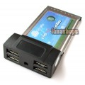 USB 2.0 4 Ports HUB PCMCIA Cardbus Adapter For Laptop(NEC)