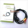 NEW AUDIO VIDEO MP3 CABLE FOR SAMSUNG PHONE D500 D600