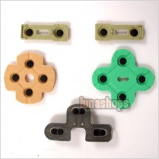 Replacement Conductive Rubber Pad Set for PS2 Joystick Controller