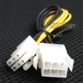 6pin Male to 6 Pin Female Power Adapter Cable