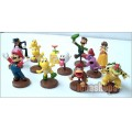 Super Mario Characters Collection Kit Figure Set of 13