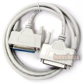 Parallel DB25 Printer Extension Cable Male to Female
