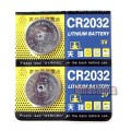 2pcs 3X CR-2032 3V Lithium CR2032 Cell Button Coin Battery