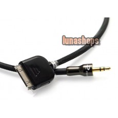 Iphone Ipad Itouch DOCK LINE OUT TO 3.5MM MALE CABLE FOE CAR HIFI
