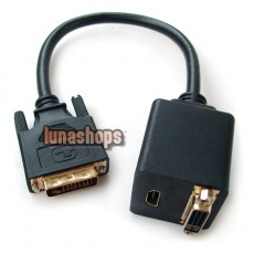 DVI 24+1 Male To HDMI DVI-D 24+1 Female Splitter Cable