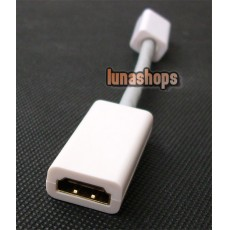 Mini DVI male to HDMI Cable Adapter For Apple Macbook