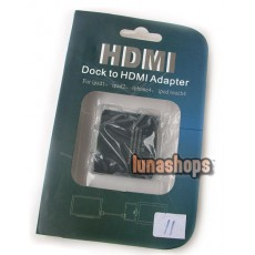 Dock Connector to HDMI 1.4 USB Adapter For iPad iPhone iPod
