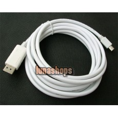 Mini Displayport to DP cable male to male 3m
