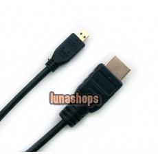 Micro HDMI to HDMI Male Adapter Cable For BlackBerry PlayBook 16GB WIFI
