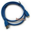 USB 3.0 Male Type A to Micro B Plug Super-Speed Cable Adapter Converter