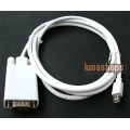 Mini DisplayPort DP Male to VGA Male Adapter Cable