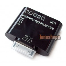 5 IN 1 USB SD Card Reader Camera Connection Kit For Samsung Galaxy Tab P7500