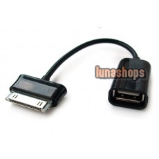 For Samsung Galaxy Tab 10.1/8.9 30Pin to Female USB Host OTG Cable Adapter P7500