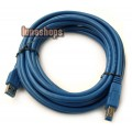 500cm USB 3.0 Type A/B male Super-speed cable for printer scanner modem