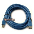 500CM USB 3.0 Male to Female Extension Cord Cable 4.8Gbps