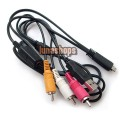 DSC VMC-MD3 AV A/V TV Cable FR SONY W390 W380 W350 TX5 with Charger port