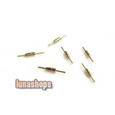 For 4 pcs Sennheiser IE8 Earphone Upgrade Cable pins Connector Plug