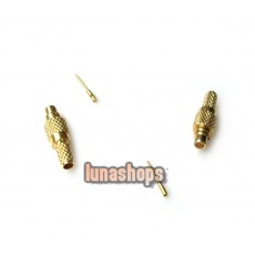 1 Pair For Shure SE535 SE425 SE315 SE215 Earphone Upgrade Cable Male Plug Pins