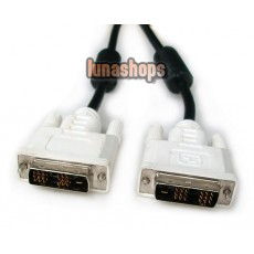 200cm DVI-D Male To DVI-D Male 24+1 Cable Adapter For HDTV DVD