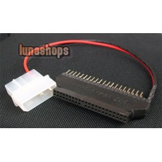 2.5 to 3.5 IDE Hard Disk Converter Adapter With Power Cable