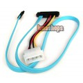 29 pin 15+7+7 Female To SATA IDE 4 pins Sata Male Power Cable Adapter