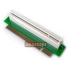 ST8001B PCIExtender 90 Degree Left Riser Expansion Bus Slot Board Card Adapter