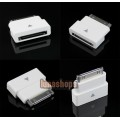 Male to Female Extension Dock Extender 30 pin Adapter for iPod iPhone 4S iPad2