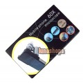 60X Zoom LED Cellphone Mobile Phone Microscope Micro Lens For iphone 4S 4G