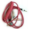 6.5mm + 3.5mm red headphone cable for  Headphone