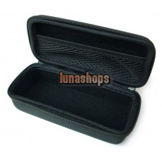 Black Hard case pouch bag for Sennheiser PX100-II PX200-II PX100 PX200 headphone