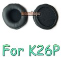 Leather Ear pad Headphones For AKG K26P/K414P/K416P Earpads