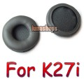 Leather Ear pad Headphones For AKG K27i K416P K 27i K 416 P Earpads