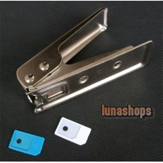 Micro Sim Card Cutter + 2 Sim Adapters for iPhone 4G 4s OS Adapter