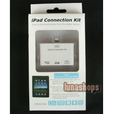 3in1 SD Micro SD Card Reader Camera Connection Kit For ipad 5G
