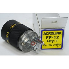 Acrolink refrigeration Series FP-12 Speaker Cable Power Plug Adapter Male