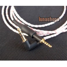 1.1m 100% handmade Silver Plated AKG K450 Q460 K480 upgrade cable