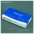Original Pisen TF SD SDHC MS M2 XD MMC CF all in one card reader